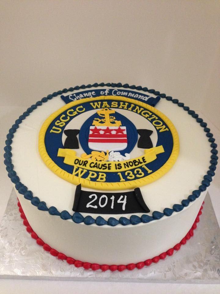 Air Force Change Of Command Cake
