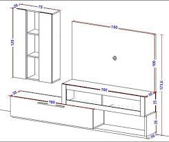 Resultado de imagen para muebles para tv mdf PLANOS