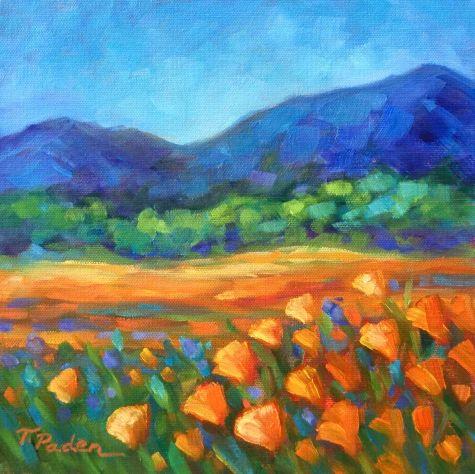 Colorful Impressionism Landscape Painting California