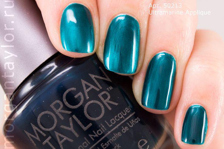 Morgan Taylor Ultramarine Applique