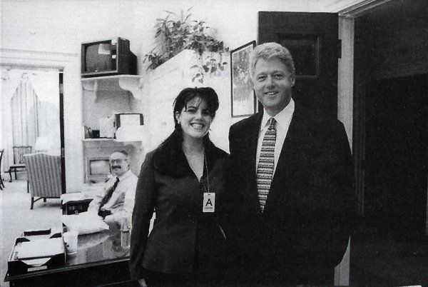 Monica Lewinsky returns to 'burn the beret and bury the blue dress'