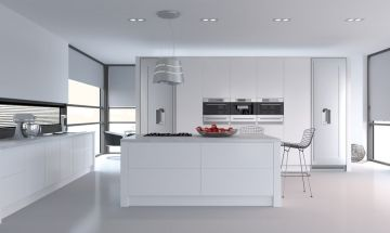 Bella Porcelain White Kitchen - By BA Components.