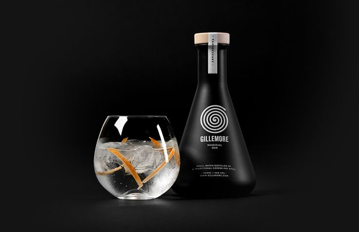 Gillemore magical gin - concept and packaging | by Skinn Branding Agency