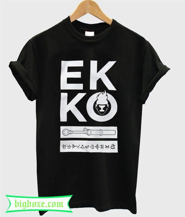 Riot Games Merch Ekko T-Shirt