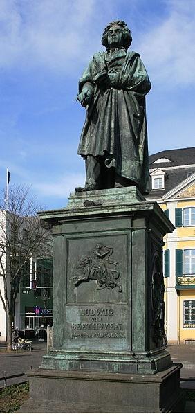 Beethoven Monument in Bonn, Münsterplatz