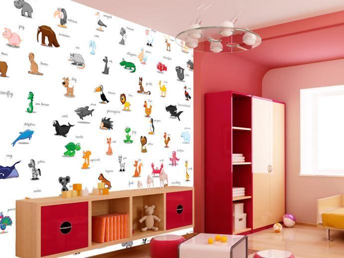 Fototapete für Kinderzimmer kann auch einen erzieherischen Wert haben ...