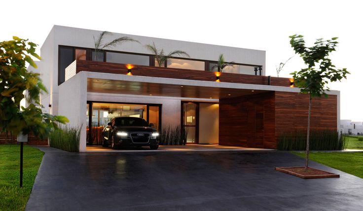 Bom Casa Moderna Garagem 95 com Garagem Casa Moderna