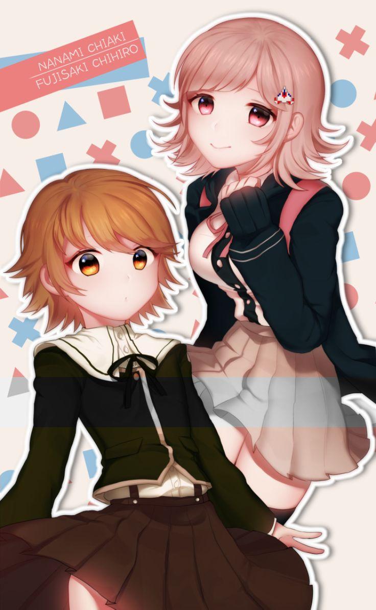 Chihiro and chiaki Danganronpa, Danganronpa characters