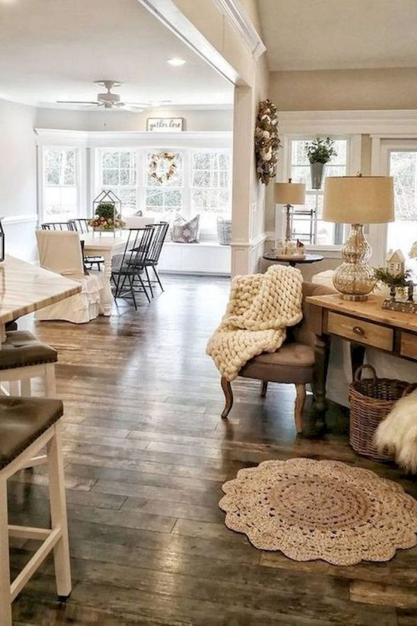 25 Amazing Rug Living Room Farmhouse Decor Ideas In 2020 Farm