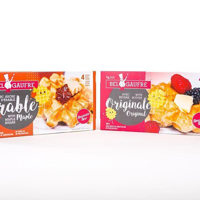 NOUVELLES GAUFRES GOURMET  Découvrez notre toute nouvelle gamme de gaufres gourmet, en version beurre ou sucre d'érable! Disponible à partir de la semaine du 17 avril au rayon des surgelés des épiceries Metro.