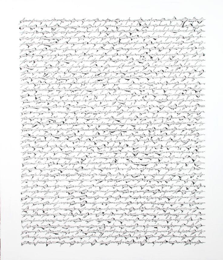 """""""Scrittura universale"""" (Acrilico su tela) - - A. Rapetti, """"Oltre la parola dipinta"""" 19 luglio-15 settembre 2013, Spazio Oberdan, Milano. http://www.provincia.milano.it/cultura/manifestazioni/oberdan/oltre_la_parola_Rapetti_mogol/index.html"""