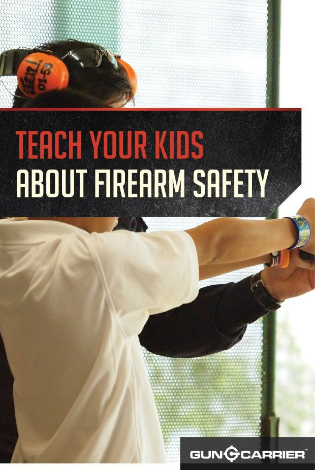 Educating Kids on Gun Safety by Gun Carrier at http://guncarrier.com/gun-safety-for-kids