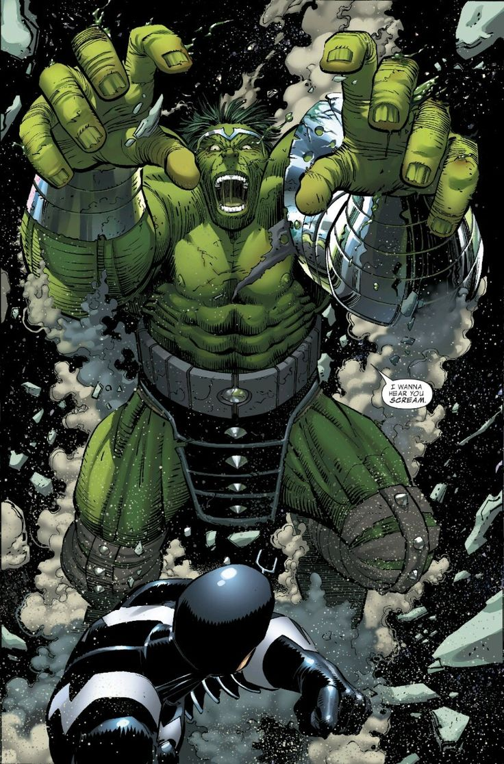 "kevinmcvicker: ""World War Hulk 1 By Pak & Romita Jr """