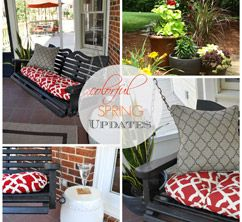 Spring Updates Part Two By Finding Fabulous Outdoor Living And Entertaining Pinterest