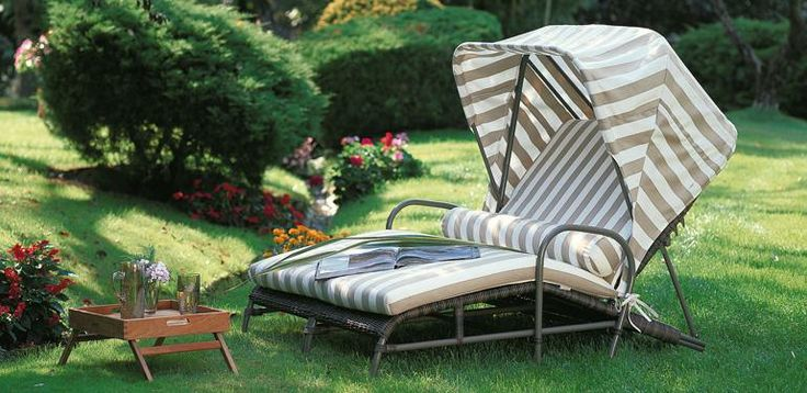 Isotta by Unopiù #sunLoungers #Outdoor #evergreen #romantic https://www.facebook.com/unopiu