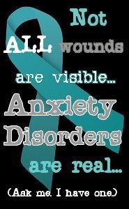 Anxiety Disorder Awareness Pictures, Images and Photos. yeah, would have been nice to have that understanding growing up. and it would be nice if more people understood that you can't just wish it away.