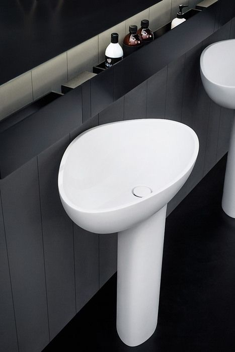 Agape 2014 Drop basin with stand. Agape Bathrooms from Liquid Design +44 (0)1604 721993