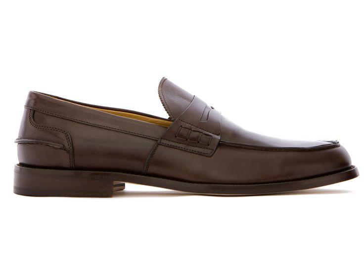 Brown Loafers in Full Grain Leather - El Rilasàa - Velasca - Men's Fashion