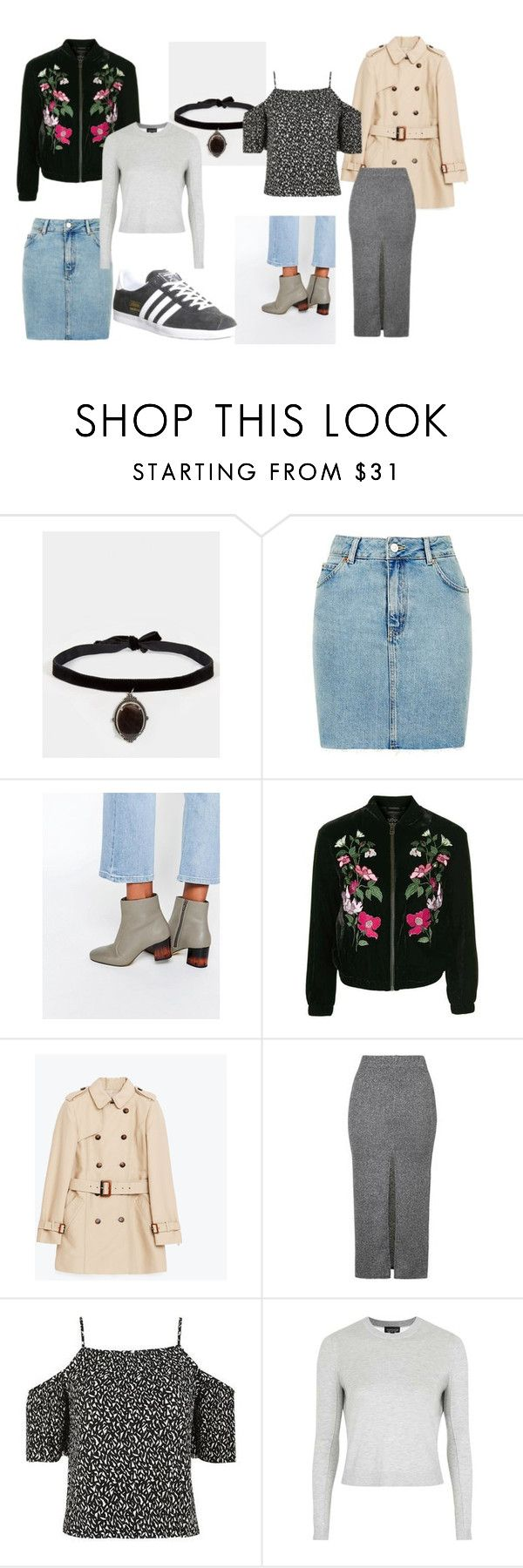 """Summer to Autumn Lust List"" by ashleighmc12 on Polyvore featuring REGALROSE, Topshop, ASOS and adidas"