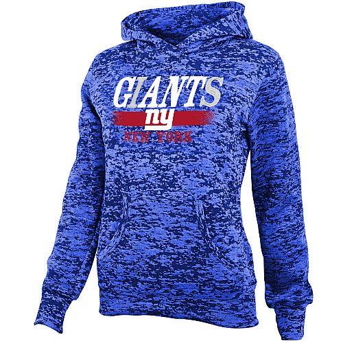 NFL Team Apparel Girls New York Giants Shawl Neck Hoody♥