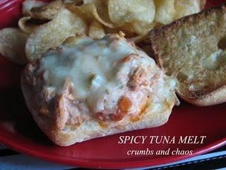 Spicy Tuna Melts | Eyes Bigger Than Stomach | Pinterest