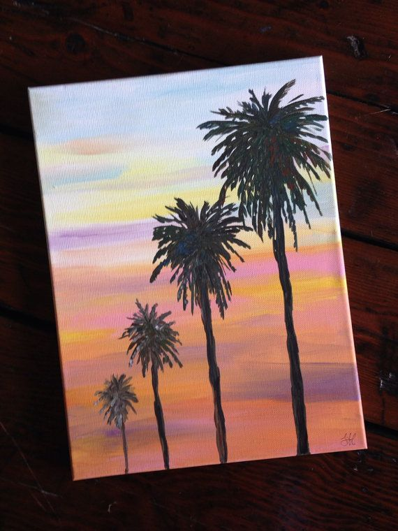 Открытка с пальмой своими руками