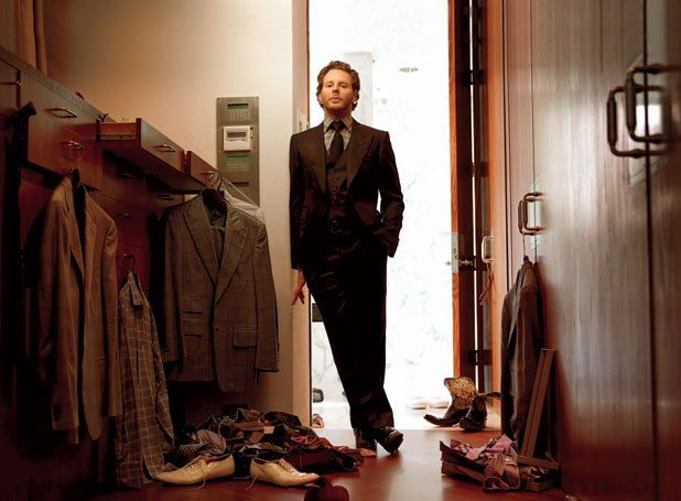 My Tech Hero Sean Parker...Napster, Plaxo, Facebook, Spotify...maverick...say no more. He is in the movers, shakers & partiers!