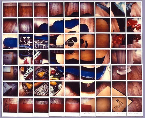 David Hockney - Still Life Blue Guitar, 1982  composite polaroid, 24 1/2 x30 in.