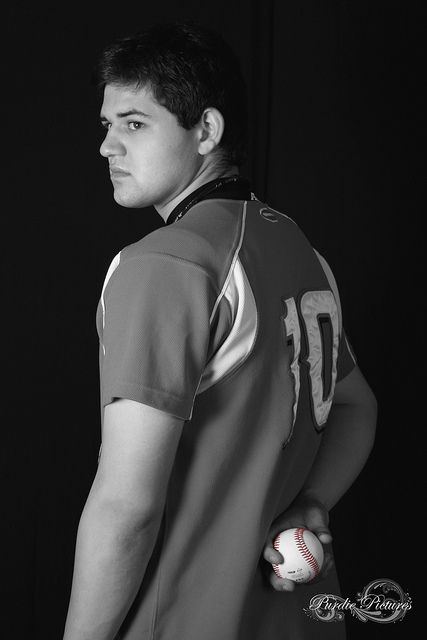 Senior portrait- baseball