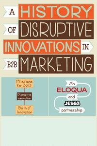 A history of Disruptive Innovations in B2B marketing...interesting #infographic