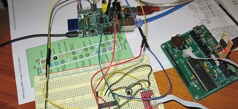 Raspberry Pi as an AVR programmer