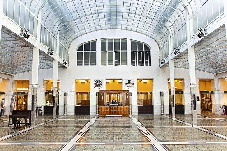 Otto Wagner, Postsparkasse, Vienne, 1904-1906 #Otto #Wagner #art #nouveau #poste