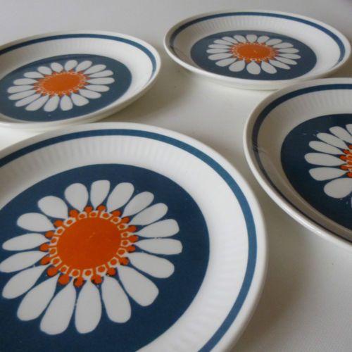 figgjo flint daisy plates