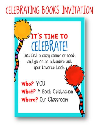 Present Your Students With An Invitation To A Quot Book
