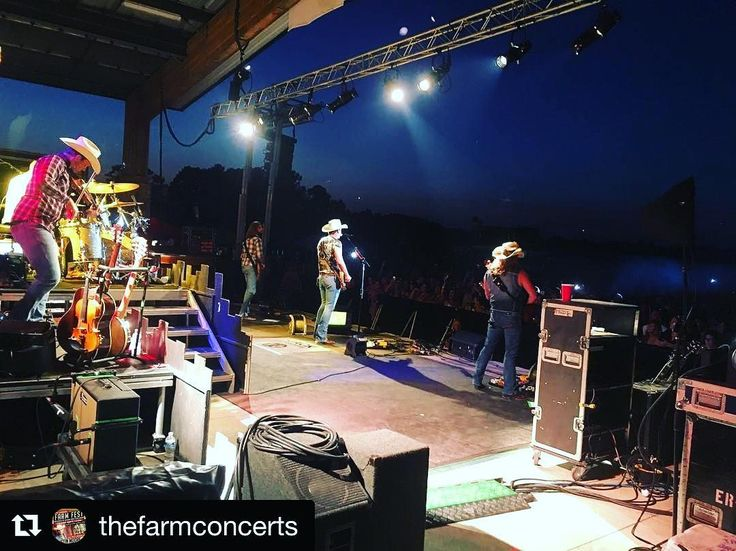@thefarmconcerts (@get_repost)  NINE.MORE.DAYS. The countdown is down to single digits for FARM FEST!  This pic was taken backstage last year as Jon Pardi was singing under the stars.  Don't miss the biggest farm party of 2017 happening right here next Friday.  Head over to thefarmnc.com NOW for tickets. #FarmFest17 @justincolemoore @highvalleyofficial @muscadinebline @faithbardill