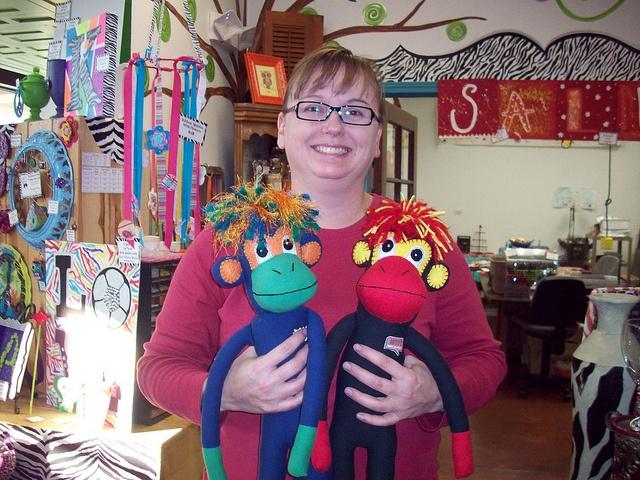 Lisa Waddell. Creator of the smac! custom pattern.