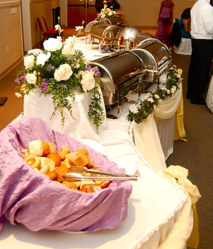 Elegant Buffet Settings