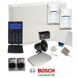 Bosch Solution 6000 Alarm System with 2x Wireless Tritech Detectors + Graphics…