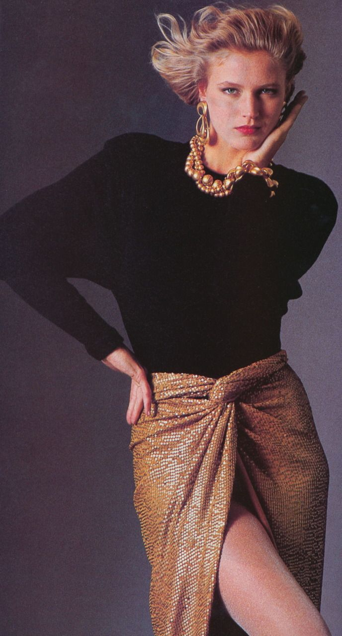 Donna Karan 1985 Repinned By Www Fashion Net 1980 S