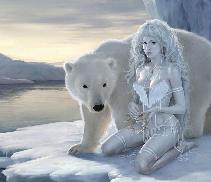 Nanook Inuit Myth The Master Of The Polar Bears She He