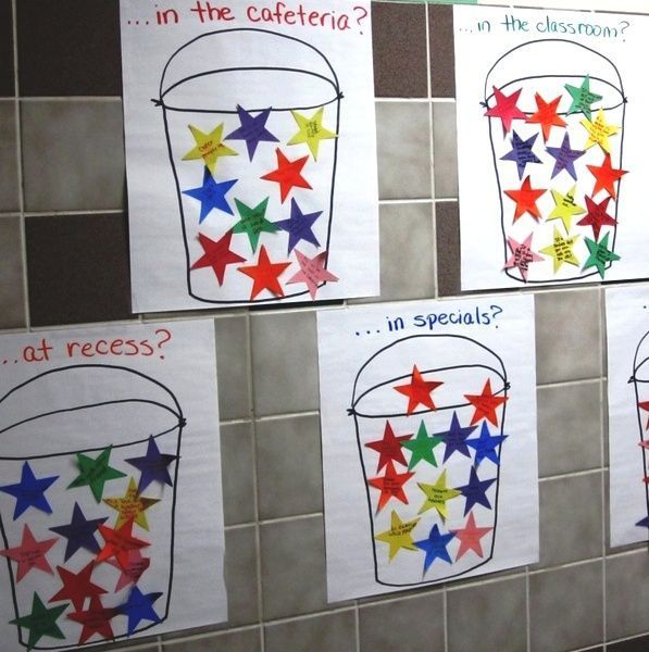 I love this idea for the kids coming up with ways to be a bucket filler. I want…
