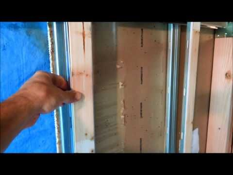 Install A Pocket Door In An Existing Opening - YouTube