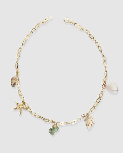 582cd76055a7 Collar El Corte Inglés cadena con conchas en 2019 | Jewellery Focus ...