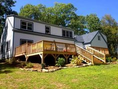 Lincolnville Vacation Rental - VRBO 564626 - 6 BR Mid-Coast & Islands House in ME, Lincolnville Duplex Retreat-kate gosselin rental house