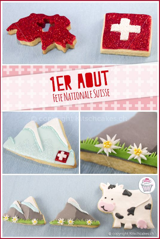 1st August - Swiss National Day : Kitschcakes, Providing you with Sweet Smiles & Sweet Memories
