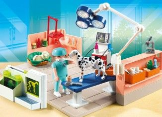 5530 Pet Examination Room Lego Playmobil Playmobil