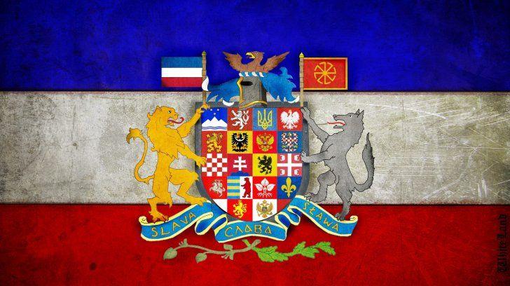Pan Slavic Flag Hd Wallpapers For Pc Flag History Symbol