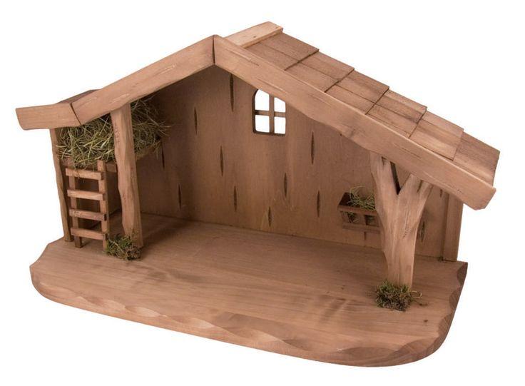 Pesebres en madera buscar con google navidad - Casitas de nacimientos de navidad ...