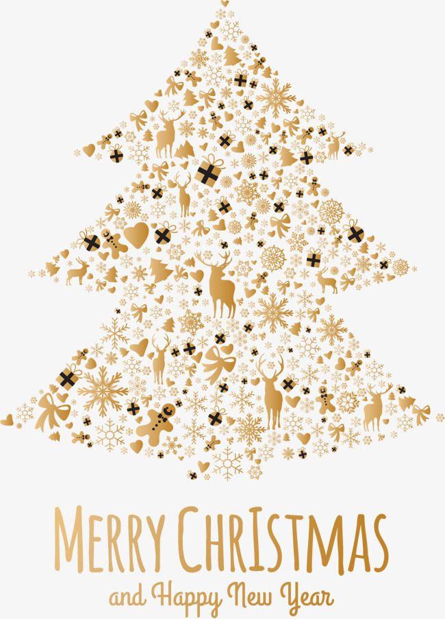Arvore De Natal Dourada Vector De Natal Vetor De Arvore Clipart De Arvore Imagem Png E Psd Para Download Gratuito Christmas Vectors Christmas Christmas Tree