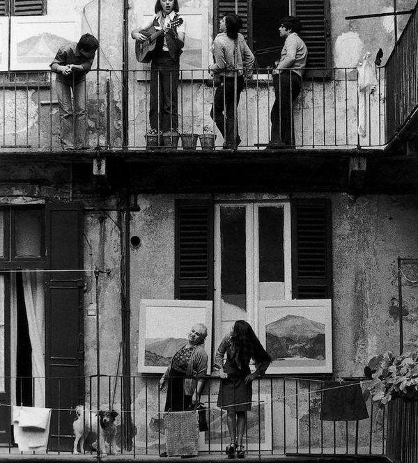 Le case di ringhiera di Gianni Berengo Gardin - Milano